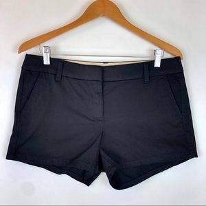 "J Crew Factory 3.5"" Cotton Chino Shorts Black 2018"